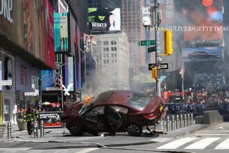 Agresorul din Times Square practica Scientologia si era convins ca vine sfarsitul lumii. Noi imagini
