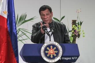 """Duterte îl jignește pe Kim Jong-un: """"față dolofană"""", """"fraier"""", """"fiu de cățea"""""""