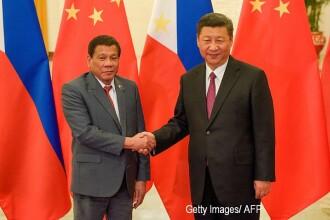 Rodrigo Duterte sustine ca a fost amenintat cu razboiul de presedintele Chinei. Discutia pe care cei doi au avut-o la Beijing