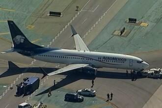 Incident grav, pe pista aeroportului din Los Angeles. 8 oameni au ajuns la spital. VIDEO