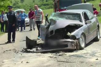 O familie a ajuns la spital din cauza unui sofer beat care a adormit la volan.