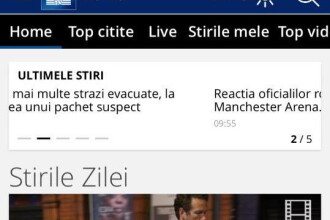 iLikeIT. Cel mai urmarit site de stiri din Romania are un update important in aplicatia de mobil: Stirile ProTV LIVE