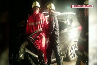 Sfarsit tragic pentru un sofer de 27 ani, dupa ce masina sa a ajuns sub cabina unei cisterne