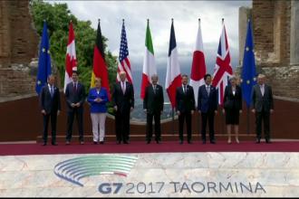 Donald Trump a ajuns primul la summitul G7 din Taormina. Avertismentul pe care l-a transmis celorlalti lideri