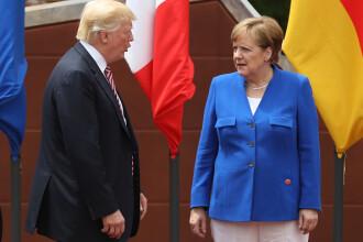 Merkel i-a atras atentia lui Trump, dupa ce a zis ca germanii sunt