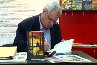 Scriitorul Rasvan Popescu si-a lansat la Bookfest volumul de proza scurta,