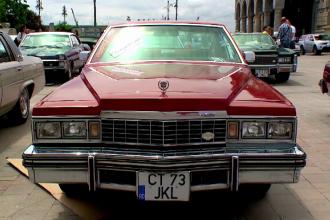 Un Cadillac de lux, fabricat in 1977, cel mai scump automobil vandut la licitatia de masini vechi organizata in Constanta
