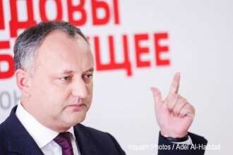 Igor Dodon atacă România într-un mesaj despre anularea alegerilor de la Chișinău