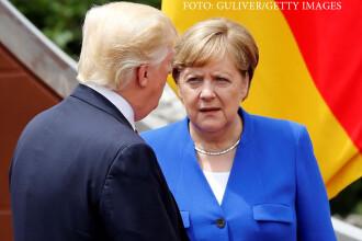 Mesajul lui Donald Trump pentru Germania, dupa ce Merkel anuntase ca nu se mai poate baza pe SUA.