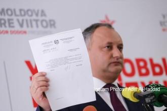 Igor Dodon vrea ca R. Moldova să devină republică prezidenţială