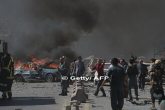 Bilantul atentatului sinucigas de la Kabul a crescut la cel putin 35 de morti