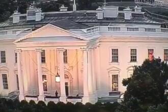 O lumina rosie misterioasa a putut fi vazuta la doua ferestre ale Casei Albe. Cum a fost elucidat misterul. VIDEO