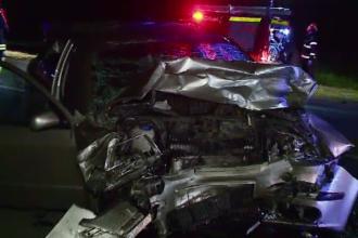 Un tânăr a murit după ce iubita lui a pierdut controlul volanului