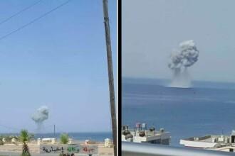 Un avion de luptă rusesc SU-30 s-a prăbușit în largul coastei siriene