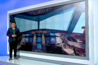 iLikeIT. Simulatorul de zbor care reproduce perfect un Boeing 737