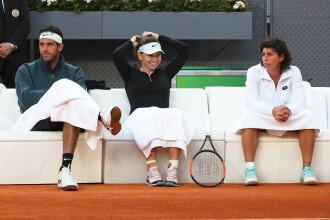 Simona Halep, cuplu inedit cu un jucător mai înalt decât ea cu 30 de centimetri