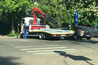 Poliția Locală Sector 3 București continuă să ridice mașinile parcate neregulamentar