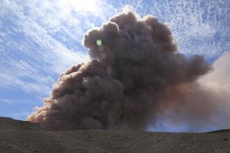 Vulcanul Kilauea din Hawaii a erupt violent după un cutremur de magnitudine 5