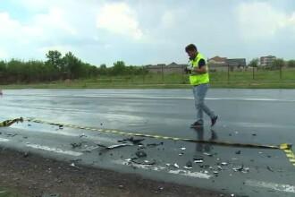 O tânără de 20 de ani a murit într-un accident pe DN69. A intervenit elicopterul SMURD