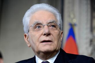 Preşedintele Italiei, Sergio Mattarella, vrea un guvern