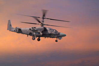 Elicopter militar rusesc, prăbuşit în Siria. Ambii piloţi au murit