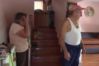 Dezastru în Pitești după o ploaie torențială. Pagubă de 10.000 de lei în casa unei familii
