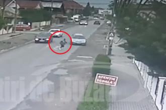 Fetiță de 11 ani, lovită pe trecerea de pietoni de lângă școală de un liceean