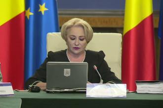 """Premierul Dăncilă, prima reacție după proteste: """"Am văzut un asalt împotriva instituțiilor statului!"""""""