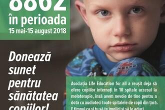 """Alexandru Tomescu susține campania """"Sunet pentru Sănătatea Copiilor"""