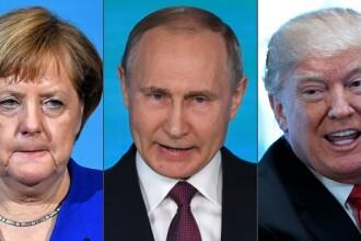 Putin a discutat cu Merkel la telefon despre acordul nuclear. Mesajele liderilor
