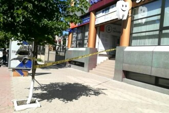 Un bărbat s-a împușcat în cap, într-o bancă, pentru că nu mai putea să-și plătească împrumutul