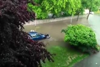 Inundații puternice în Ungaria. Un oraș din vestul țării, complet acoperit de ape
