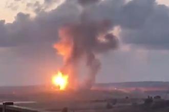 Tiruri cu rachete ale Israelului în nordul Fâșiei Gaza. Țintele lovite. VIDEO
