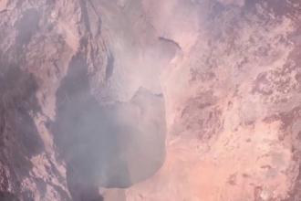 Craterul vulcanului din Hawaii, filmat cu o dronă. Cea mai mare temere a specialiștilor