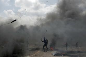 Aviaţia militară israeliană loveşte din nou în Gaza. Au fost țintite 25 de obiective militare