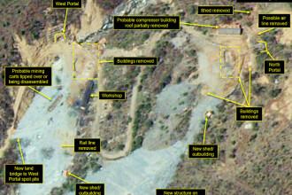 Imagini din satelit surprinse în Coreea de Nord. Ce au observat experții când le-au analizat