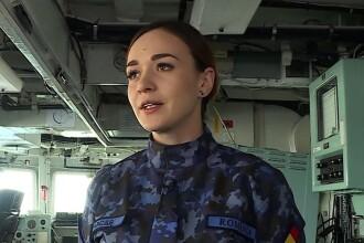 Românca de 26 de ani care conduce o navă de 60.000 de Cai Putere