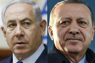 Dispută pe Twitter, între Netanyahu și Erdogan, în urma conflictului din Gaza. FOTO