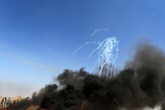 Raid aerian al armatei israeliene împotriva infrastructurilor Hamas în Fâşia Gaza