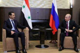 Putin şi al-Assad s-au întâlnit la Soci. Regimul sirian va colabora la elaborarea noii Constituţii