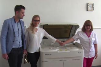 Donația extrem de importantă pe care doi tineri au făcut-o spitalului din Găești