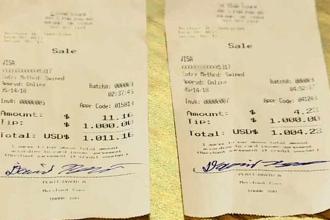 Chelneriță surprinsă de un șofer de TIR. I-a lăsat bacșis în valoare de 2000 de dolari