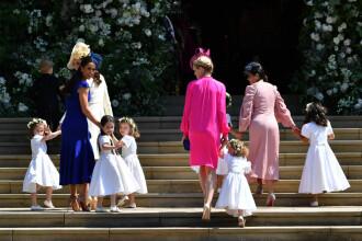 Ce roluri au îndeplinit prințul George și prințesa Charlotte la nunta regală. VIDEO