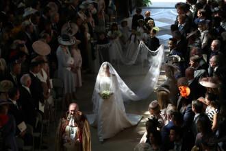 Povestea din spatele rochiei de mireasă a noii Ducese de Sussex, Meghan Markle