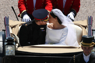 """Prințul Harry s-a căsătorit cu Meghan Markle. Desfășurarea ceremoniei și cel mai emoționant moment: """"Arăți minunat!"""""""