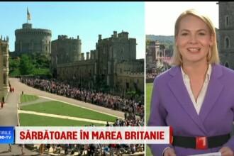 """Corespondență Știrile ProTV de la nunta regală. Harry, după plimbarea cu caleașca: """"OK acum sunt pregătit să beau ceva"""""""
