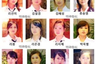 """Chelneriţele nord-coreene, """"ispitite"""" de spioni. Ce le-au promis dacă dezertează"""