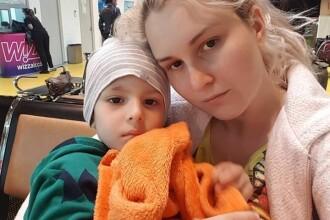 Un copil de 3 ani se luptă cu cancer la rinichi. Cum îl puteți ajuta