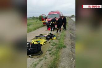 Tânăr dispărut în apele lacului Viștea de Jos, căutat de pompieri și scafandri