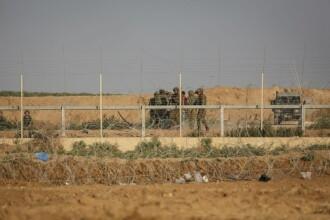 Armata israeliană a lovit o poziţie a Hamas în Gaza, după ce mai mulți palestinieni au incendiat un post militar